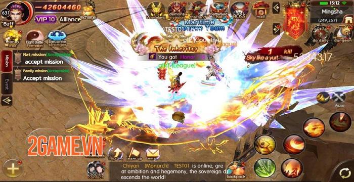 ATK Challenger - Game nhập vai dễ dàng đạt VIP 7 chỉ bằng vài lần nhấp chuột 1