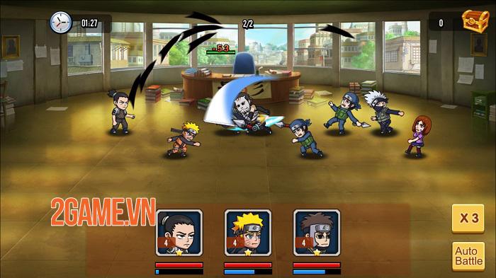 Chỉ là đồ họa 2D thôi nhưng chơi Đại Chiến Nhẫn Giả vẫn chả khác gì đang xem anime 6
