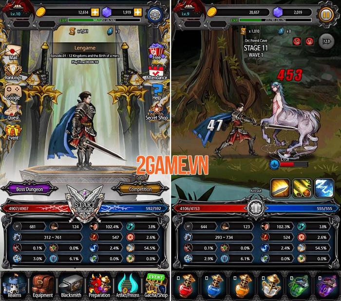 Trở thành chiến thần tung hoành ngang dọc trong Kingdom Battle 1