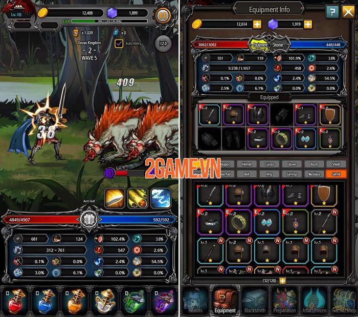 Trở thành chiến thần tung hoành ngang dọc trong Kingdom Battle 2