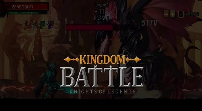 Trở thành chiến thần tung hoành ngang dọc trong Kingdom Battle