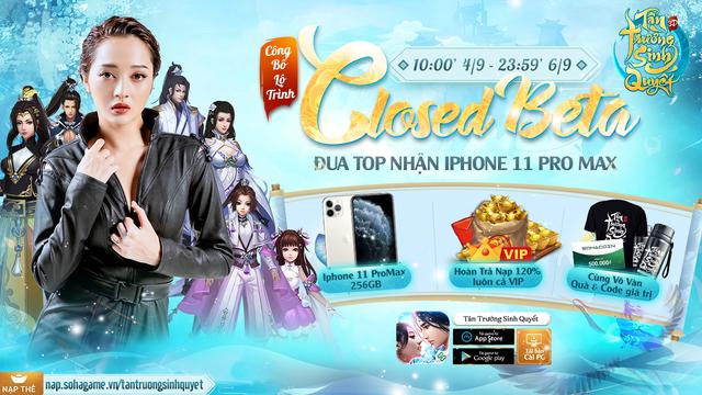 Tân Trường Sinh Quyết trở thành game online đầu tiên hoàn trả 120% KNB kèm cấp VIP 1