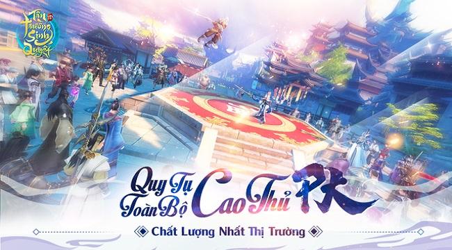 Tân Trường Sinh Quyết trở thành game online đầu tiên hoàn trả 120% KNB kèm cấp VIP