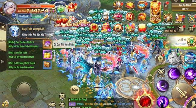 Tặng 500 giftcode game Thiên Khởi Chi Môn VNG