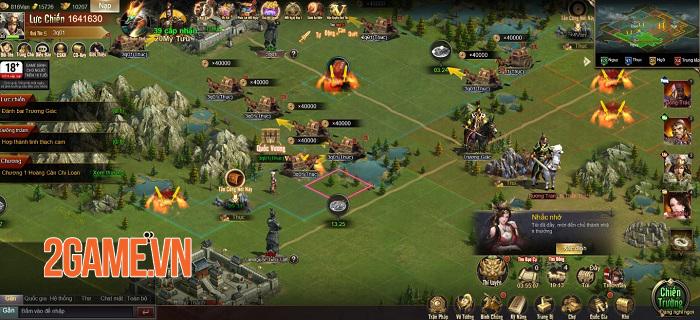 Tam Quốc Công Thành H5 đã trọn vẹn tính chiến thuật lại còn dễ dàng tiếp cận 2