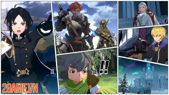 Siêu phẩm game nhập vai chiến thuật Lord of Heroes ra mắt bản quốc tế 5