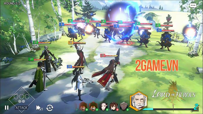 Siêu phẩm game nhập vai chiến thuật Lord of Heroes ra mắt bản quốc tế 3