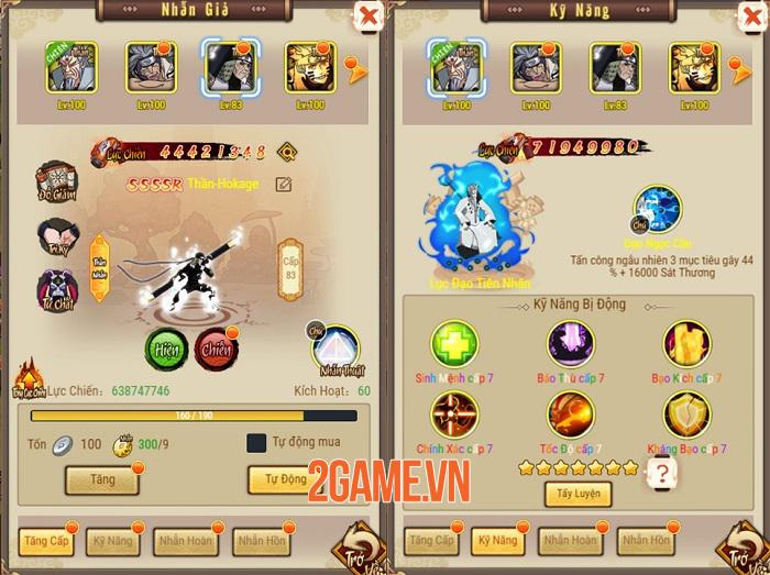 Big Update Ninja Làng Lá khai thác đa dạng khía cạnh thế giới Naruto huyền thoại 2