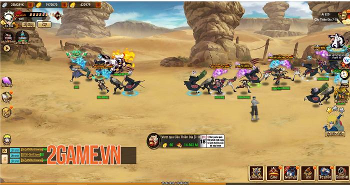 Big Update Ninja Làng Lá khai thác đa dạng khía cạnh thế giới Naruto huyền thoại 1