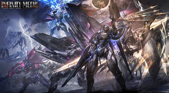 Game chiến thuật thẻ bài Infinity Mechs mở đăng ký trước cho người chơi