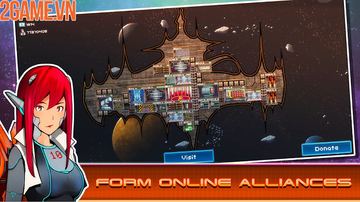 Pixel Starships mobile – khám phá các vì sao và chinh phục vũ trụ rộng lớn 2