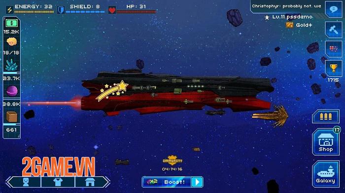 Pixel Starships mobile – khám phá các vì sao và chinh phục vũ trụ rộng lớn 5