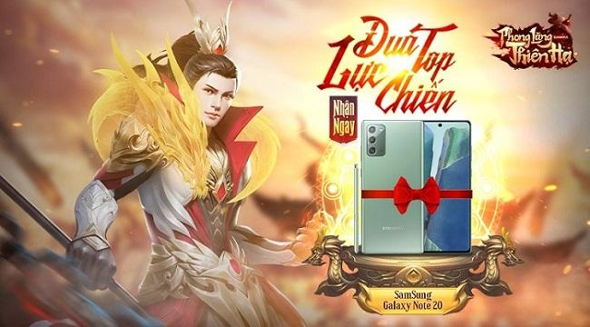 Tặng 500 giftcode game Phong Lăng Thiên Hạ GAMOTA