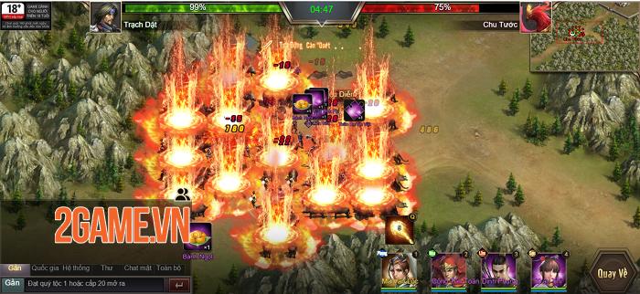 Game thủ được phô diễn khả năng thống lĩnh 3 quân trong Tam Quốc Công Thành H5 3