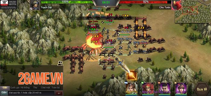 Game thủ được phô diễn khả năng thống lĩnh 3 quân trong Tam Quốc Công Thành H5 2