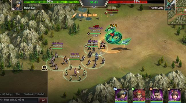 Game thủ được phô diễn khả năng thống lĩnh 3 quân trong Tam Quốc Công Thành H5