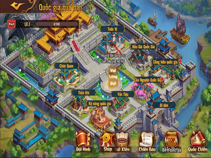 Tặng 500 giftcode game Võ Thần Tam Quốc 2