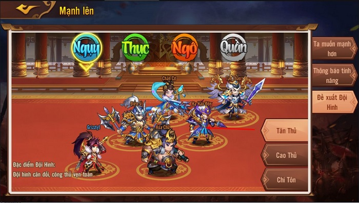 Võ Thần Tam Quốc 'cưa đổ' game thủ trong ngày đầu ra mắt 1