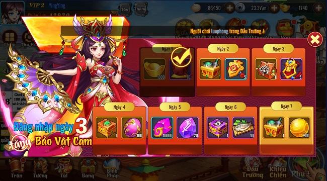 Võ Thần Tam Quốc 'cưa đổ' game thủ trong ngày đầu ra mắt
