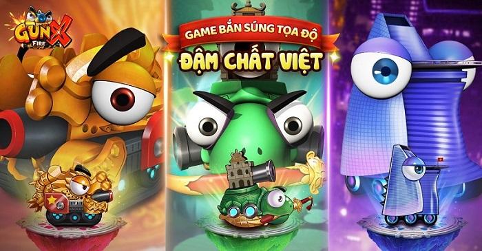 GunX: Fire tự tin là game bắn súng tọa độ đậm chất Việt! 2