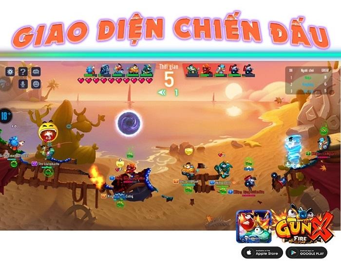 GunX: Fire tự tin là game bắn súng tọa độ đậm chất Việt! 3