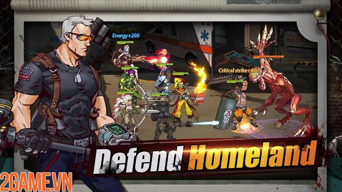 Chiến đấu để giải cứu nhân loại khỏi ngày tận diệt trong Survivors War 3