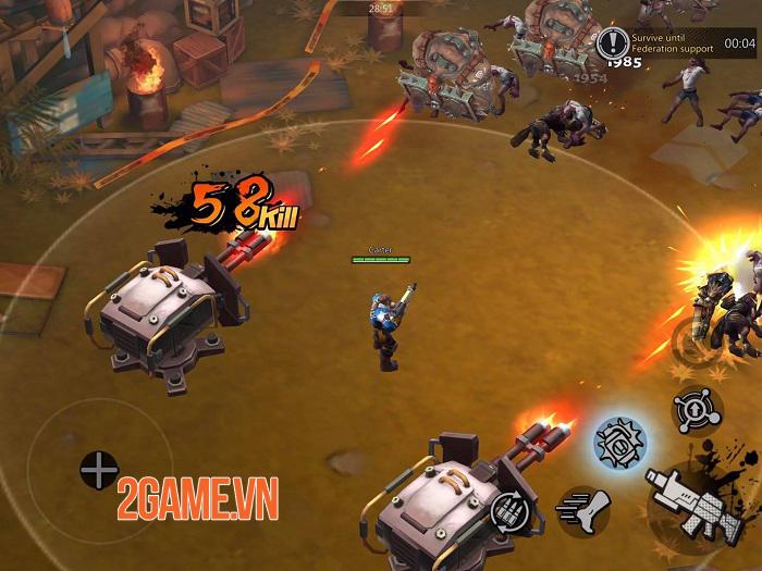 The Fifth Ark - Game nhập vai hành động shoot 'em up với gameplay hấp dẫn 1