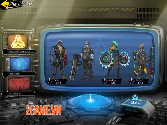 The Fifth Ark - Game nhập vai hành động shoot 'em up với gameplay hấp dẫn 4