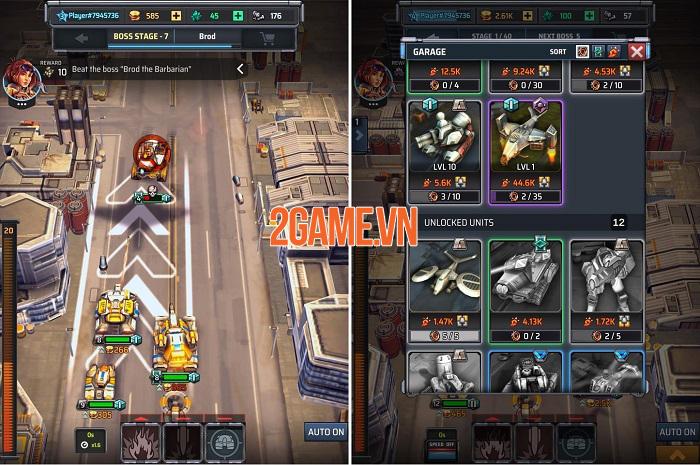 Idle War Heroes – Game giả lập chiến thuật xe tăng quân sự cực chất 1