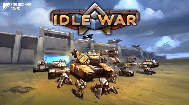 Idle War Heroes – Game giả lập chiến thuật xe tăng quân sự cực chất