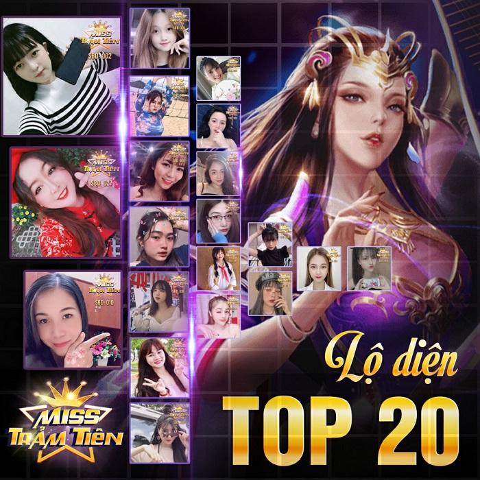 Trảm Tiên Quyết công bố 20 gương mặt Miss Trảm Tiên tài sắc vẹn toàn 1