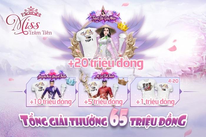 Trảm Tiên Quyết công bố 20 gương mặt Miss Trảm Tiên tài sắc vẹn toàn 3