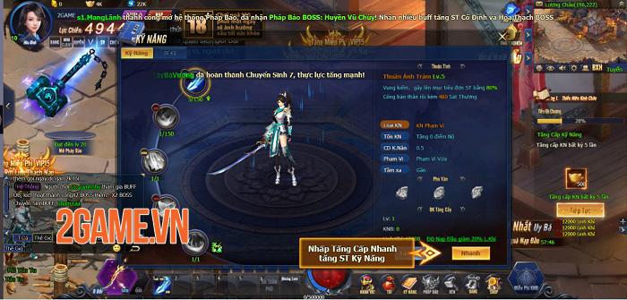 Kiếm Thánh có đầy đủ những gì người chơi mong muốn ở một webgame nhập vai 5