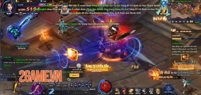 Kiếm Thánh có đầy đủ những gì người chơi mong muốn ở một webgame nhập vai 2