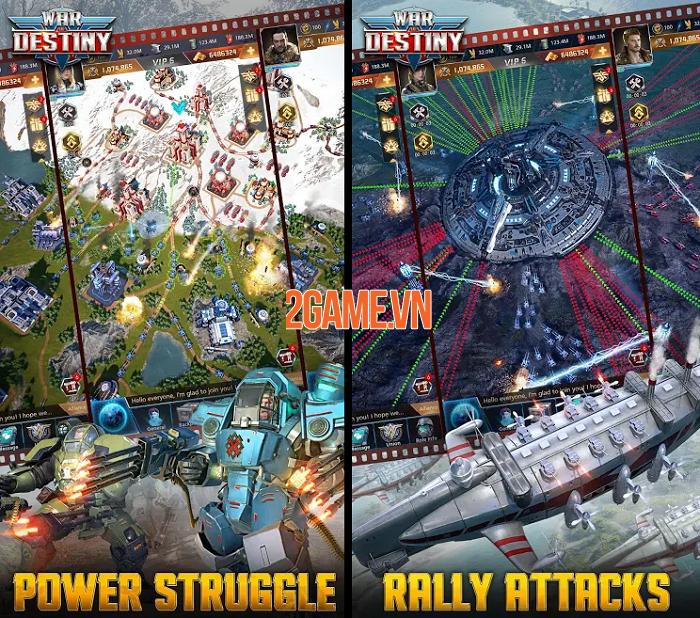 Tận dụng mưu trí chiến lược tầm cỡ vũ trụ trong War of Destiny 1