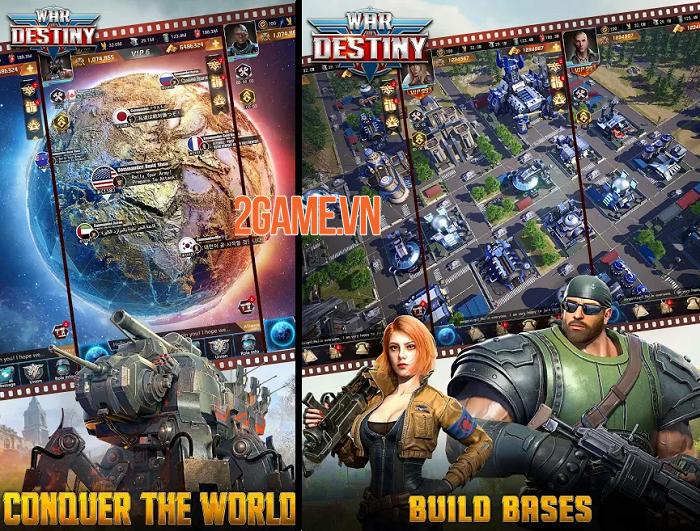 Tận dụng mưu trí chiến lược tầm cỡ vũ trụ trong War of Destiny 2