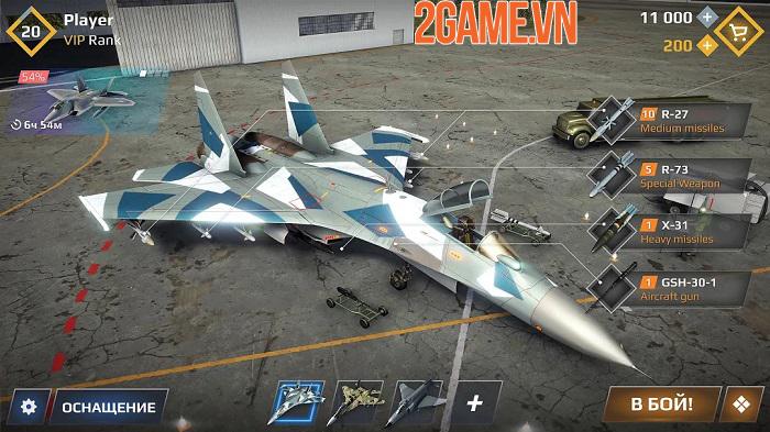 Sky Combat – điều khiển chiến cơ tung hoành trên bầu trời xanh vĩ đại 3