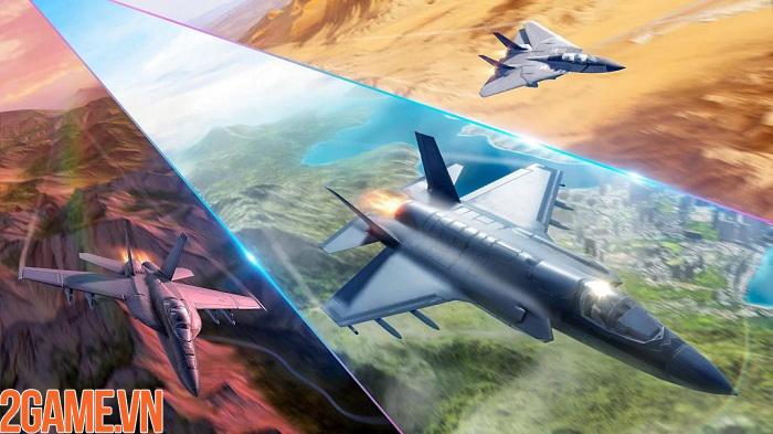 Sky Combat – điều khiển chiến cơ tung hoành trên bầu trời xanh vĩ đại 5