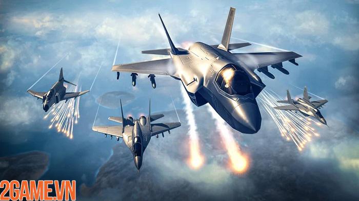 Sky Combat – điều khiển chiến cơ tung hoành trên bầu trời xanh vĩ đại 1