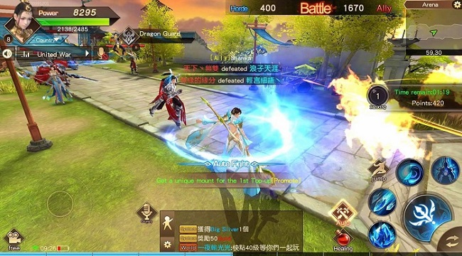 The Elder Fight – game mobile MMORPG quốc chiến thời gian thực