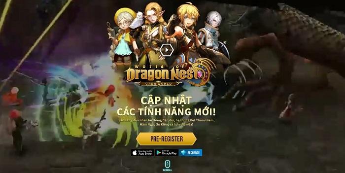 World of Dragon Nest mở đăng ký trước cho game thủ Việt kể từ hôm nay 1