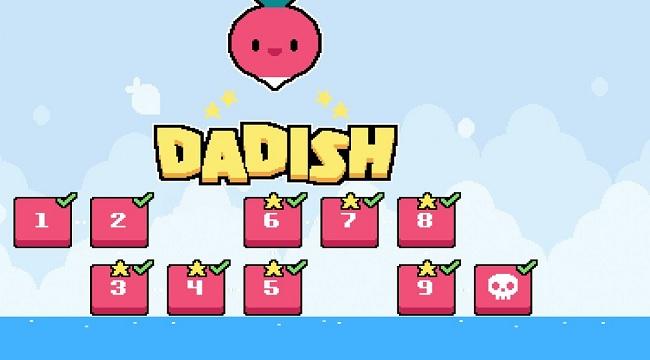 Dadish – Phiêu lưu theo phong cách mario cổ điển với cốt truyện hài hước