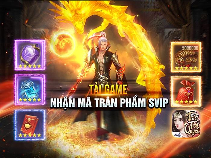 Tặng 500 giftcode game Trảm Tiên Quyết 0