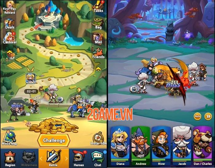 Mega Legends - Cuộc chiến đầy tính chiến thuật thú vị ở vùng đất Yelsa 1