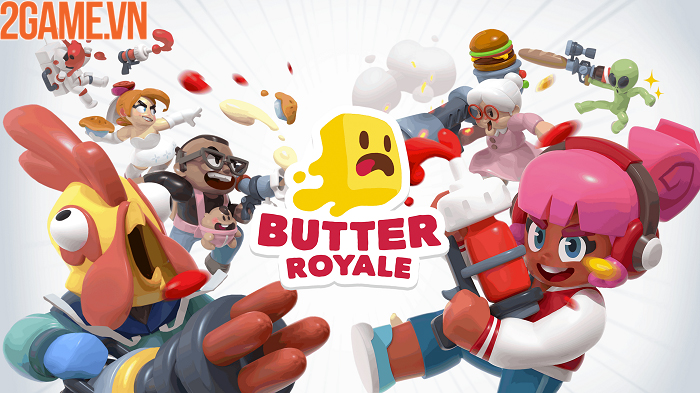 Butter Royale – đại chiến sinh tồn bằng cách ném thực phẩm chí chóe 4