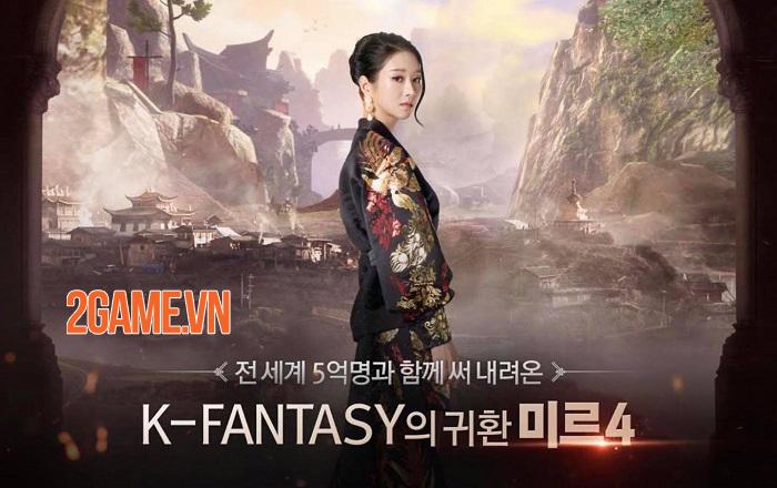 Wemade hợp tác cùng Kakao quảng bá game mobile MMORPG mới MIR 4 2