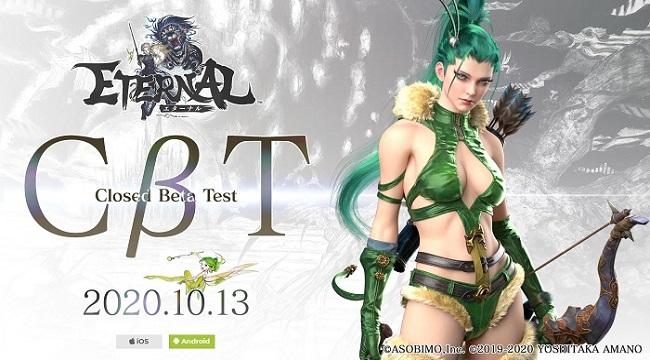Game mobile MMORPG chất lượng AAA Eternal ấn định Closed Beta
