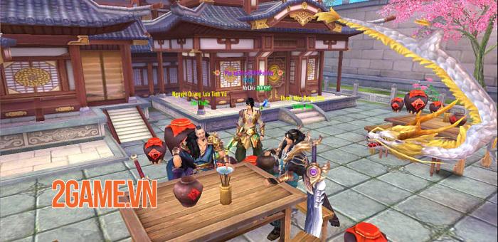 Server mới S70 Tân Thiên Long Mobile đông vui như trẩy hội 0