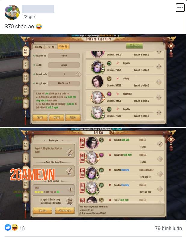 Server mới S70 Tân Thiên Long Mobile đông vui như trẩy hội 2