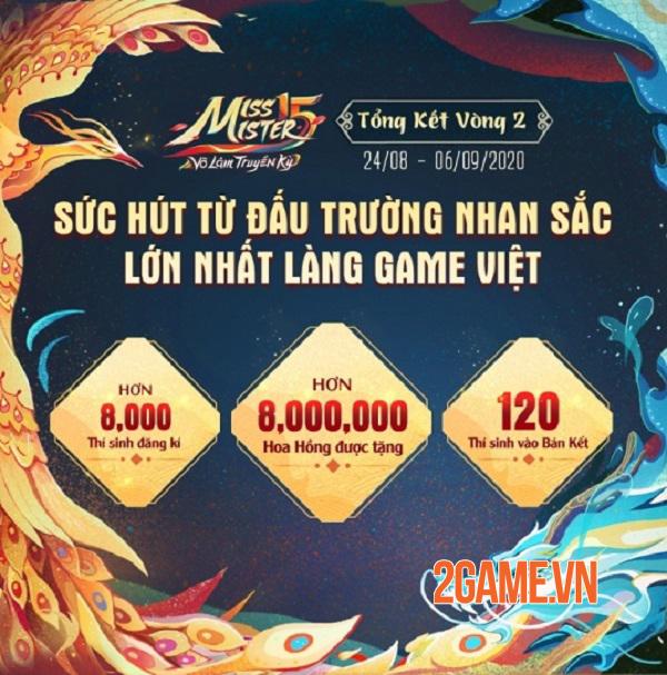 """Cộng đồng game thủ """"cày vote"""" nhiệt tình những ngày cuối vòng Bán Kết Miss & Mister Võ Lâm Truyền Kỳ 15 1"""